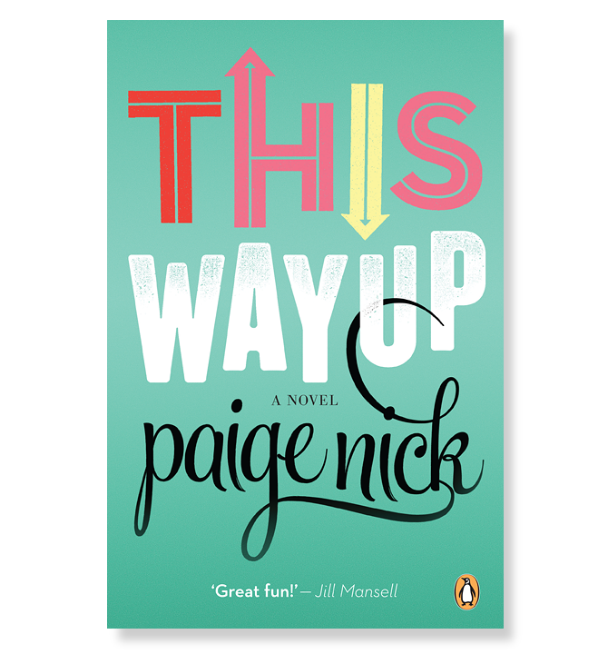 Typographic Book Cover Job ~ Paige nick book covers adam hill velcrosuit